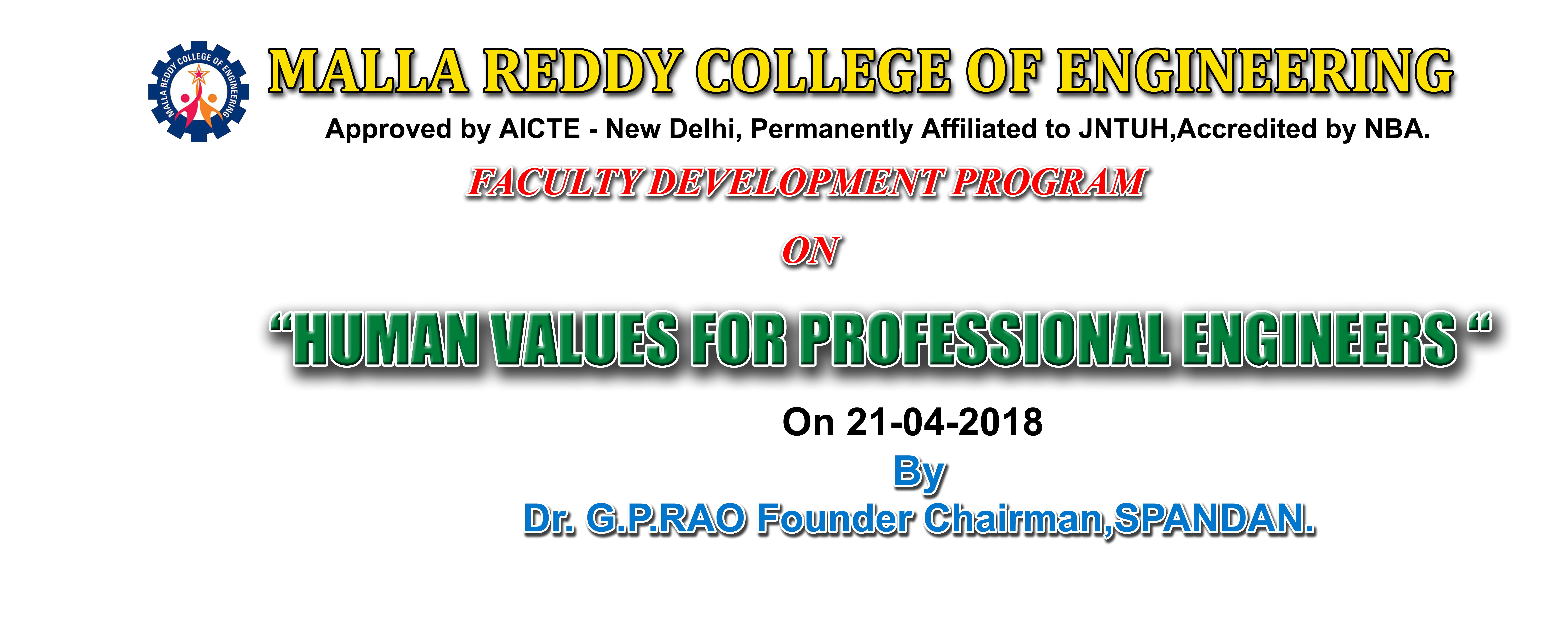 Malla Reddy College of Engineering :